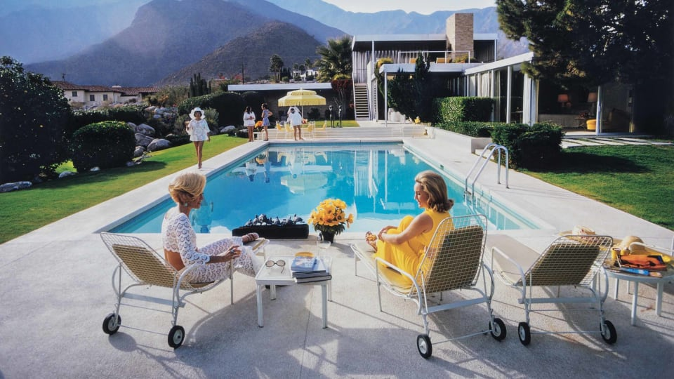The Beautiful World of Photographer Slim Aarons