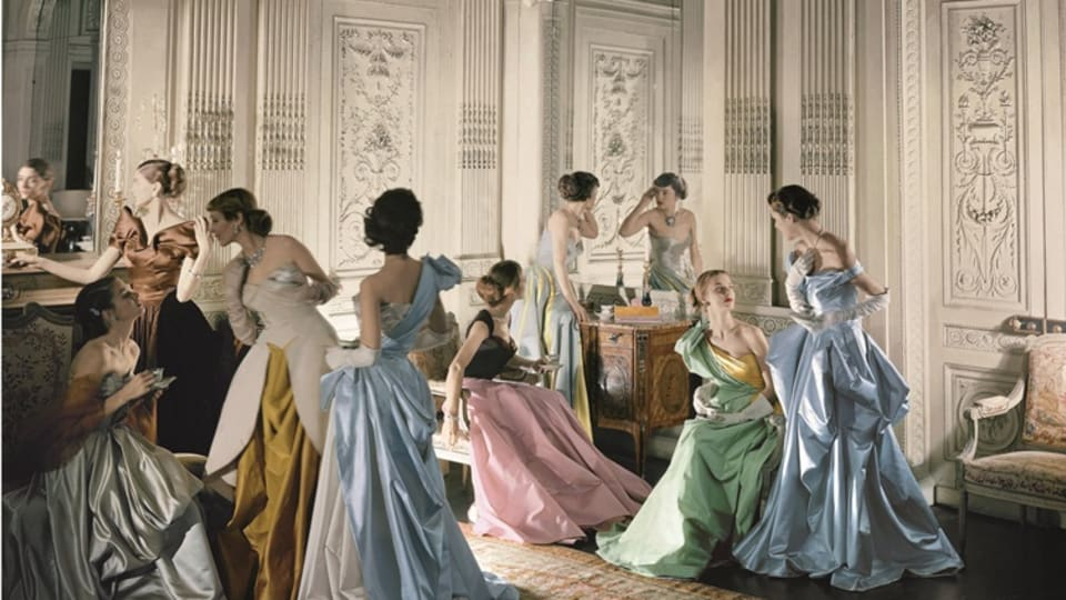 The Sculptural Mid-Century Ball Gowns of Charles James