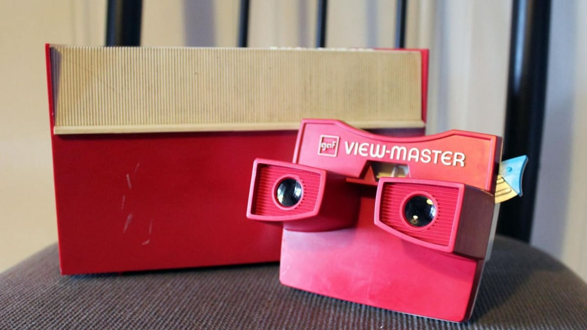 Vintage View Master 3 Reel sets For Sale without packaging and booklets