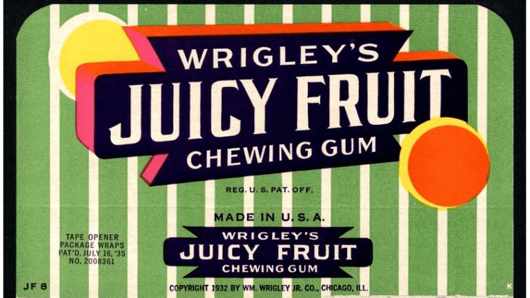 Rare Wrigley Ads at Auction