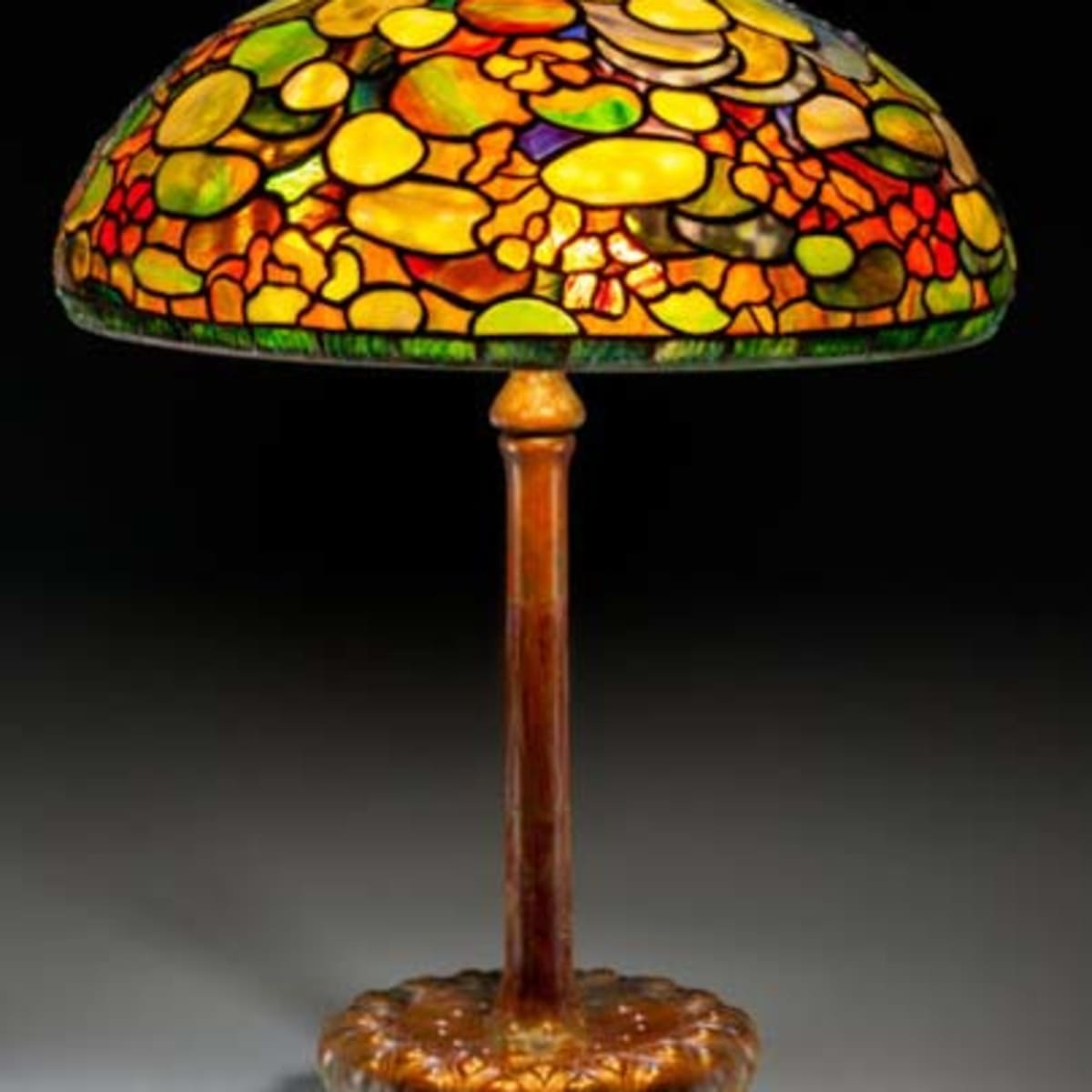 Tiffany Lamps How To Tell Real From Fake Antique Trader