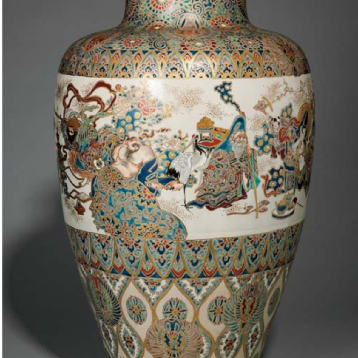Satsuma pottery vintage Antique Satsuma