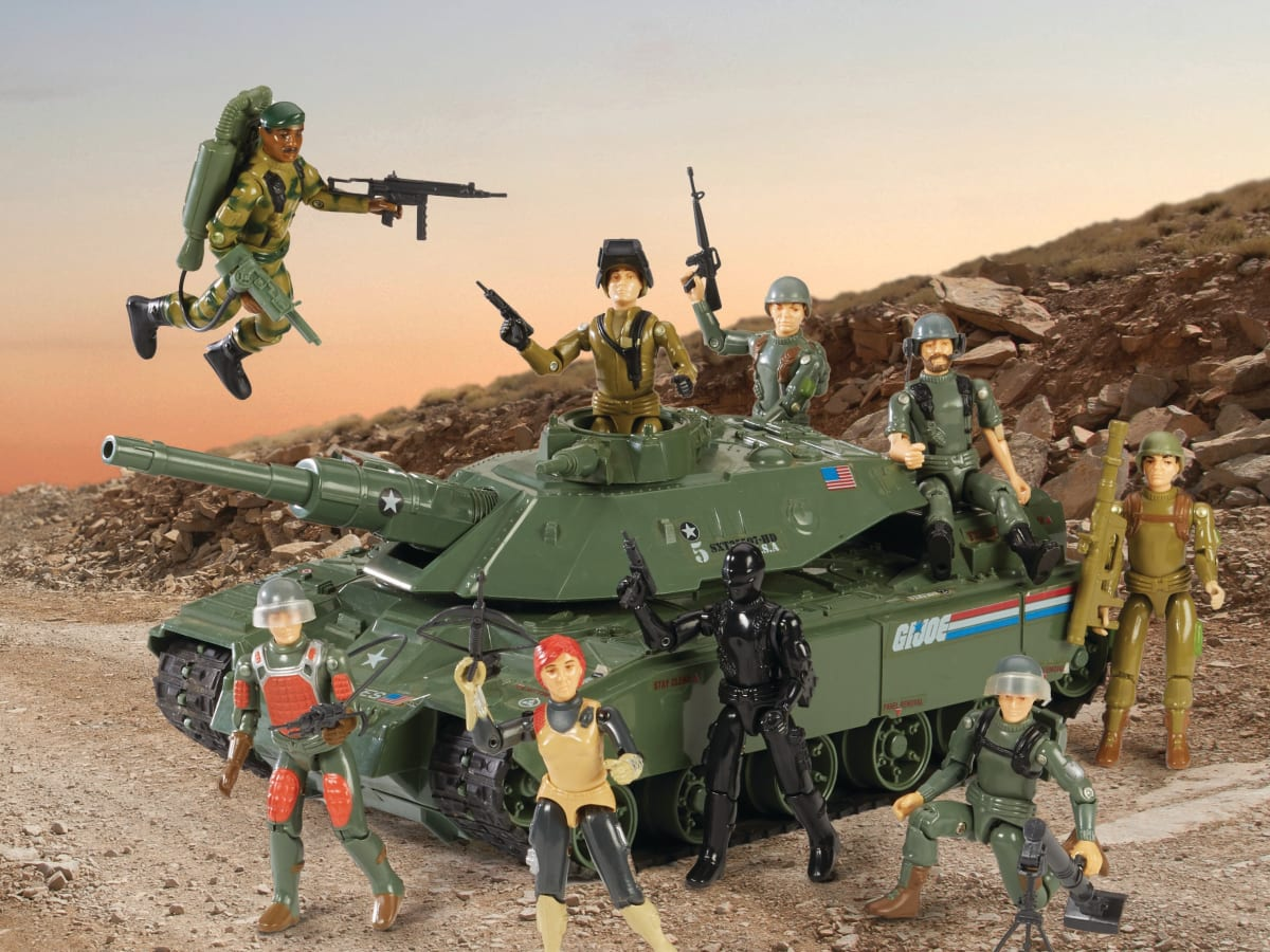 Army General 1//6 Scale GI JOE Action Figures Field Radio Phone