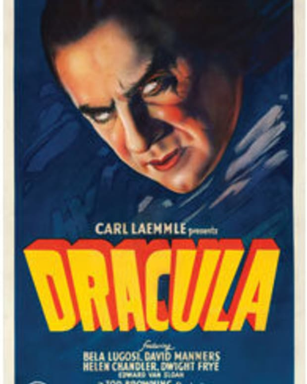 "Dracula (Universal, 1931): One Sheet (27"" x 40""), $525,800. Images courtesy of Heritage Auctions"