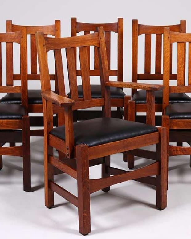 Stickley Brothers arm chairs