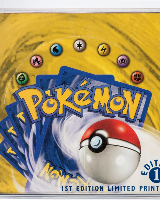 Pokémon booster set, 1st edition