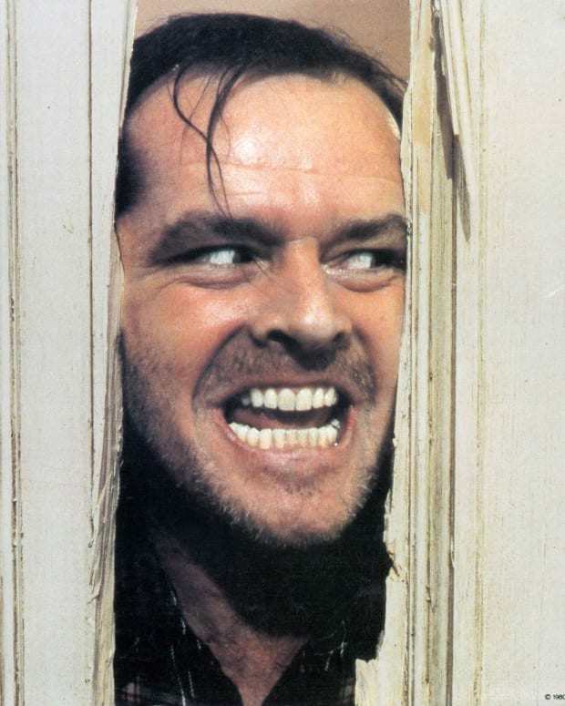 Jack Nicholson in The Shining, 1980