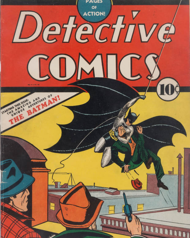 Batman's first appearance