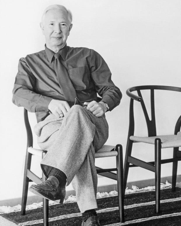 Hans J. Wegner Portrait
