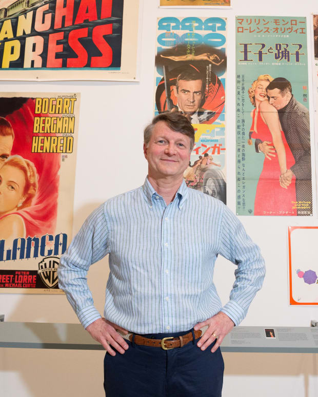 Dwight Cleveland has been collecting movie posters for more than 40 years, assembling the largest privately held and fully curated film poster archives in history.