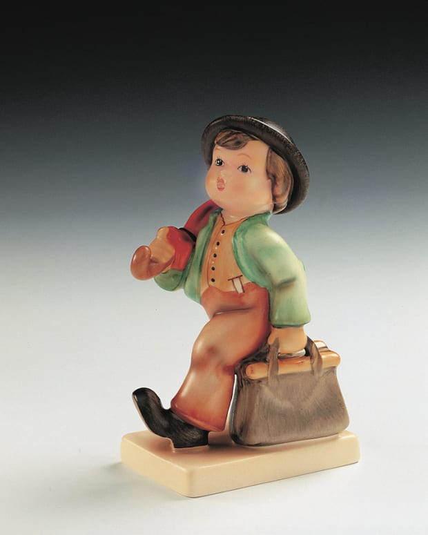 The Merry Wanderer Hummel figurine