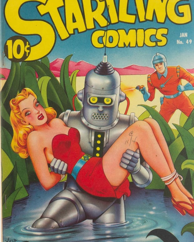 Startling Comics No. 49