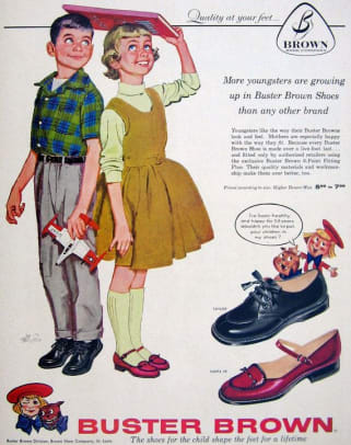 BusterBrownShoes1950s