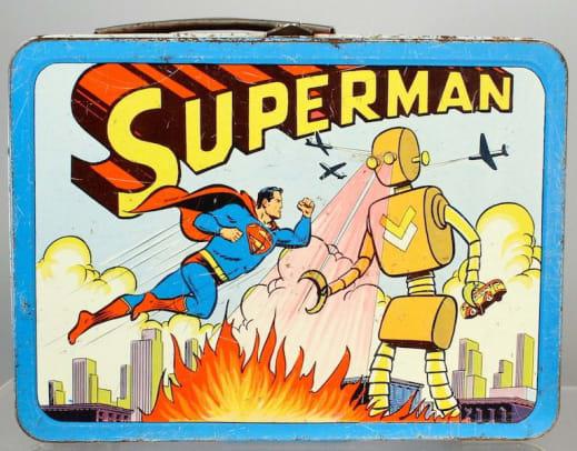 Superman Lunchbox 1954