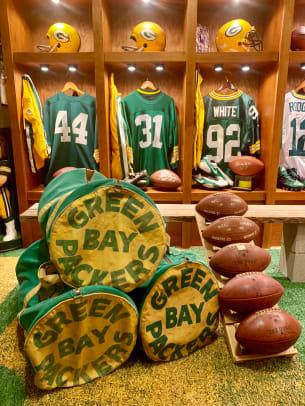 Packers Locker room