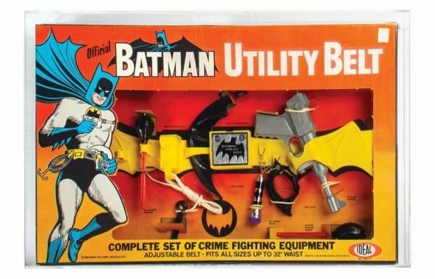 Lot 528 - Batman Utility Belt Toy