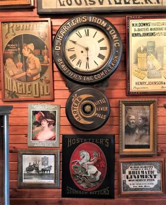 Dr Harters Iron Tonic Baird Clock (2)