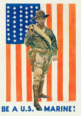 Be a Marine 1918PK