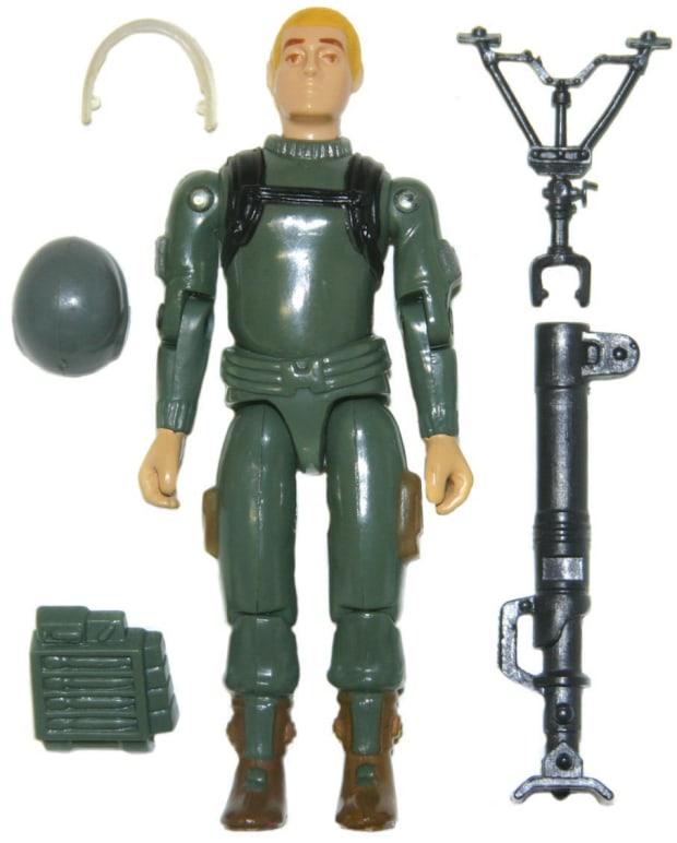 GI Joe 40 Figure Stands For 3 3//4 Vintage Figures Black