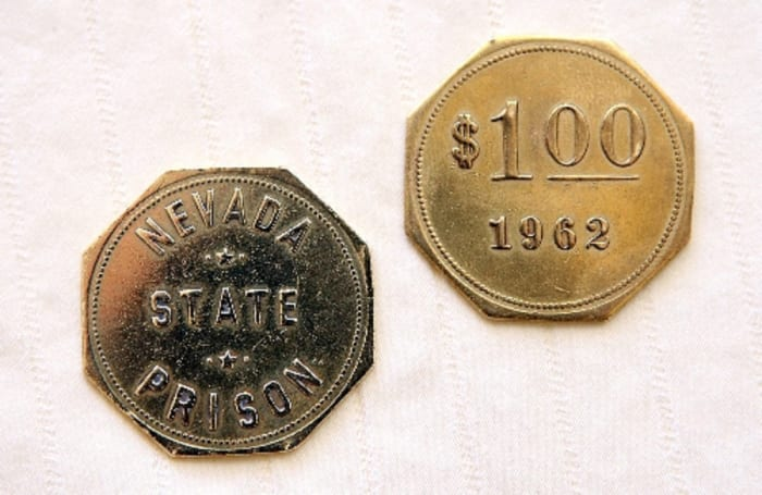This 1962 $1 token, sold on eBay in 2014 for $320.