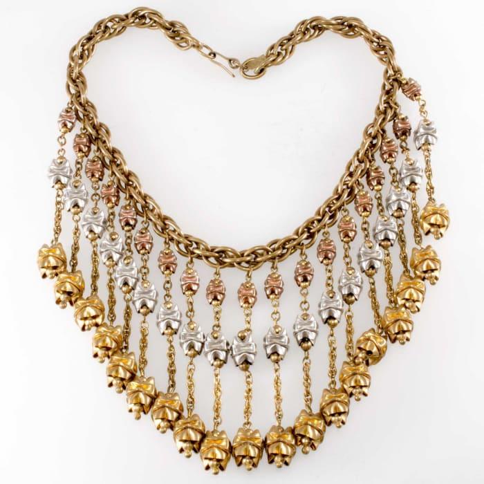 Monet Jewelers necklace, c. 1939.