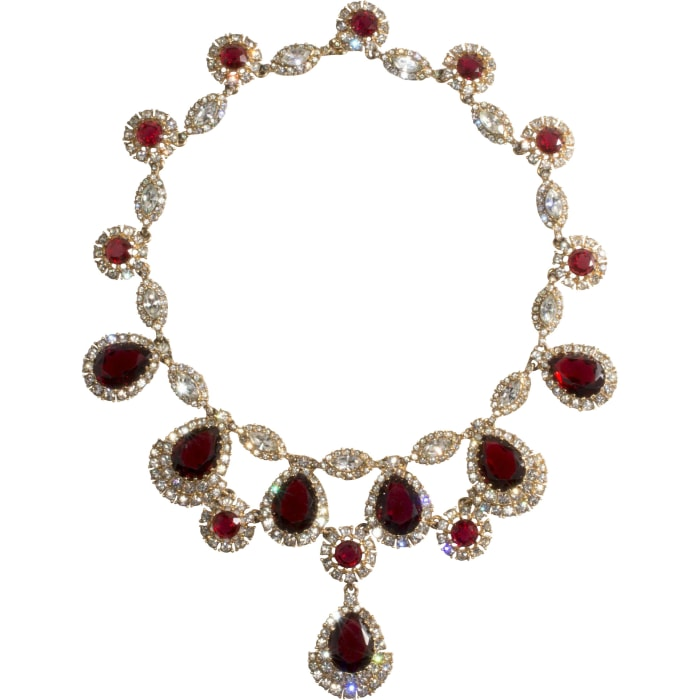 Ciner rhinestone necklace