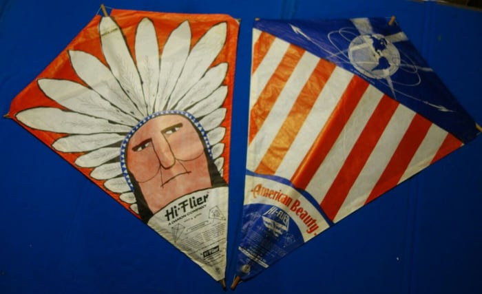 The Indian and American Beauty Hi-Flier kites