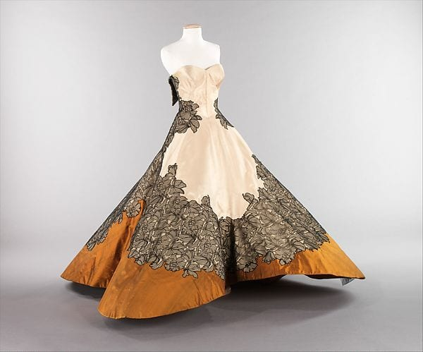 Another version of the Clover-Leaf gown in the collection of the Metropolitan Museum of Art.