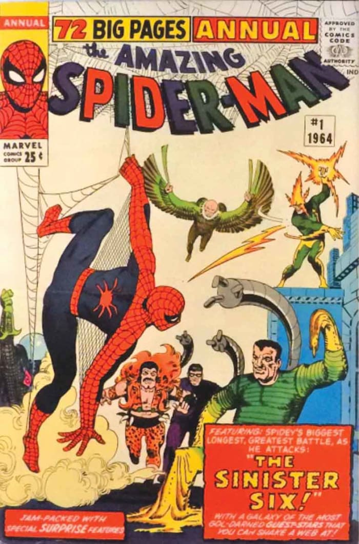 This copy of Amazing Spider-Man Annual #1 (1964), graded a 6.5, sold for $3,800, a 97 percent gain in less than a month.