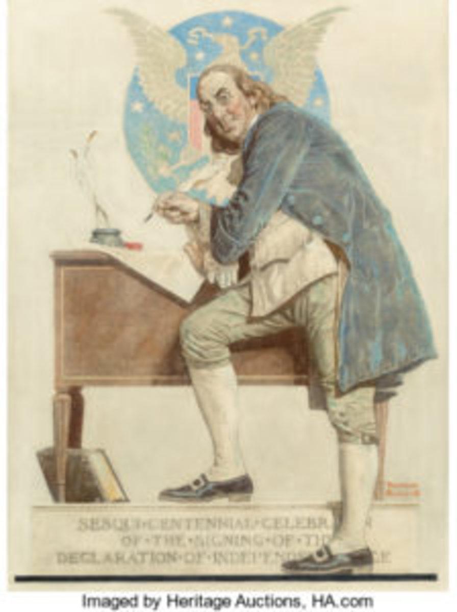 Rockwell Franklin illustration