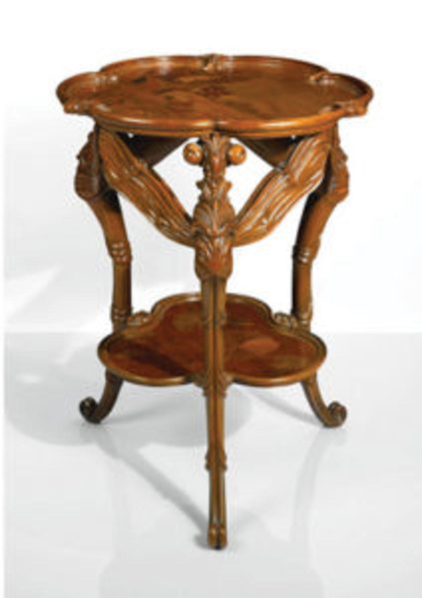 Galle Art Nouveau table