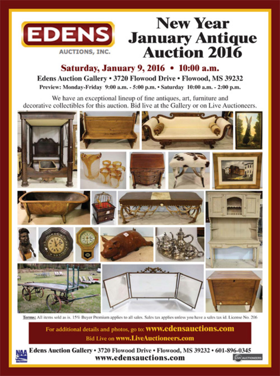 Edens Auction Gallery