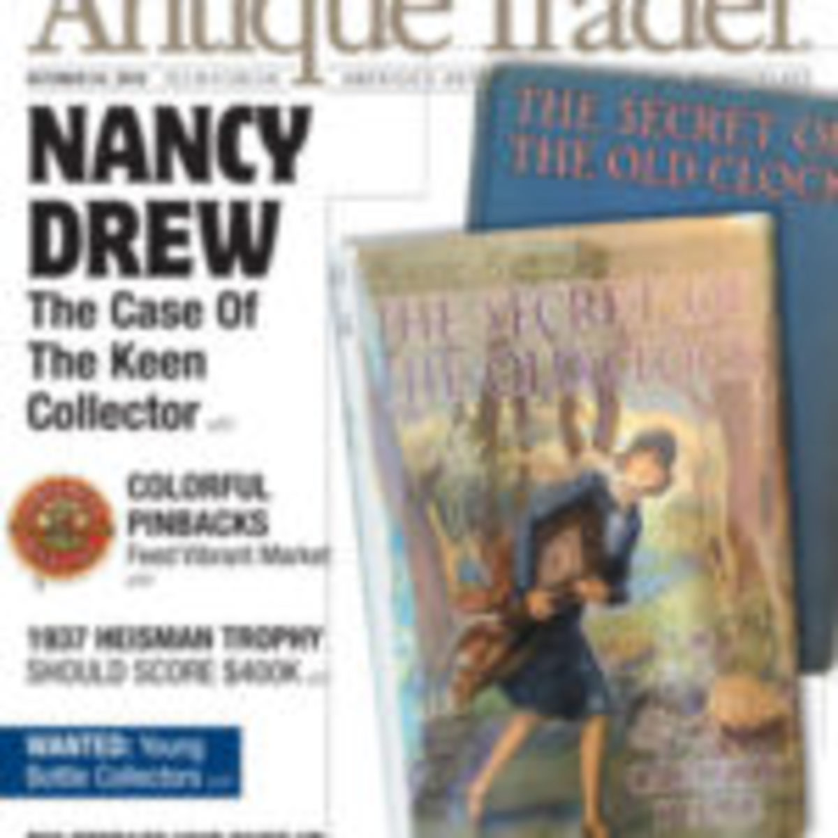 Antique Trader magazine, $26/year print; $20/year digital. Visit Subscribe.antiquetrader.com