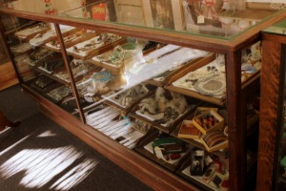 new antiques in the case