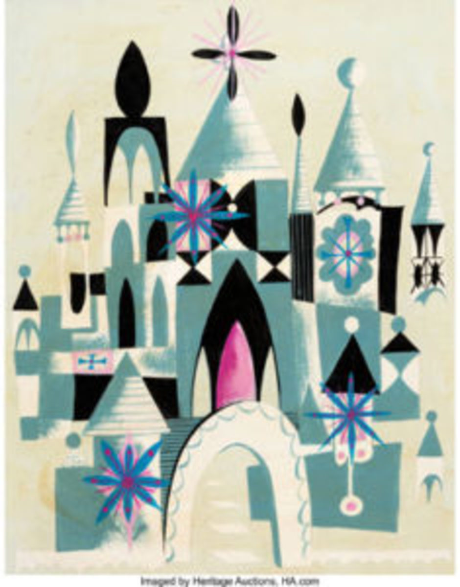 "It's a Small World"" Concept Painting"