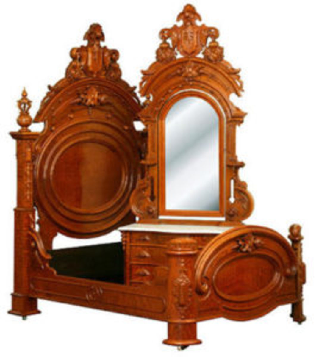 One of the most interesting periods of American furniture in terms of sheer adaptability is the Renaissance Revival period, circa 1860-1885.