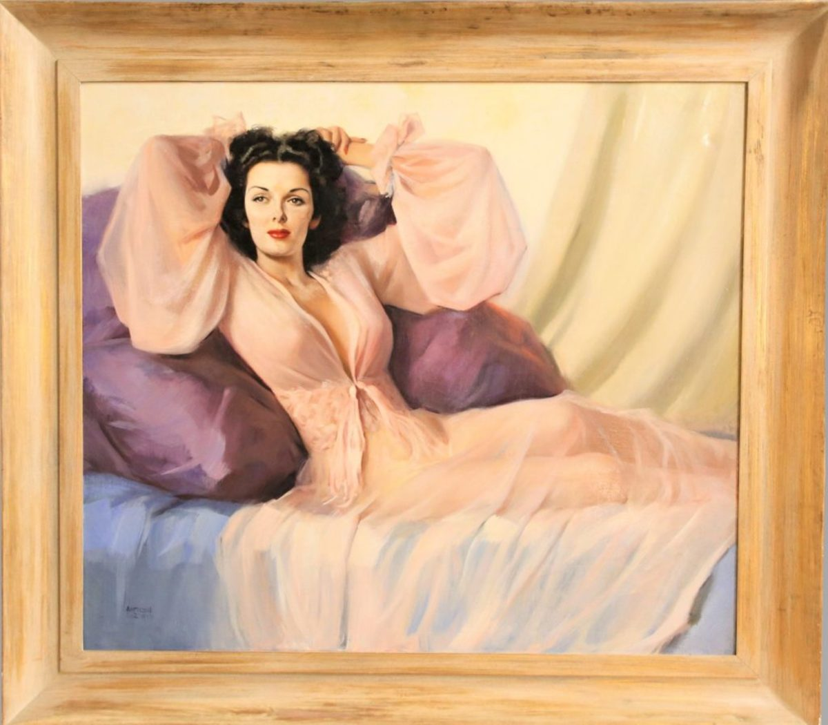 Jane Russell painting