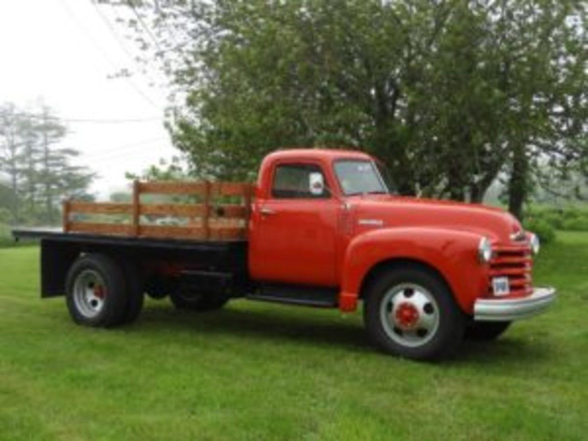 1948 restored Chevy truck