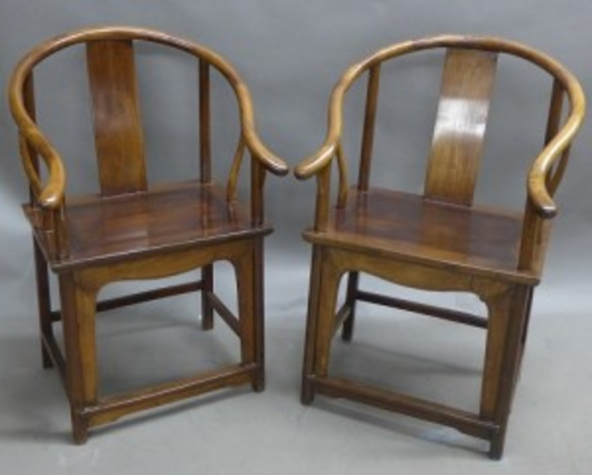 Ming-style chairs
