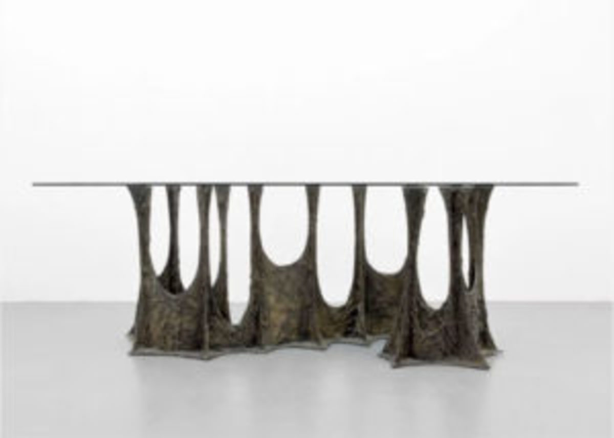 Paul Evans stalagmite dining table