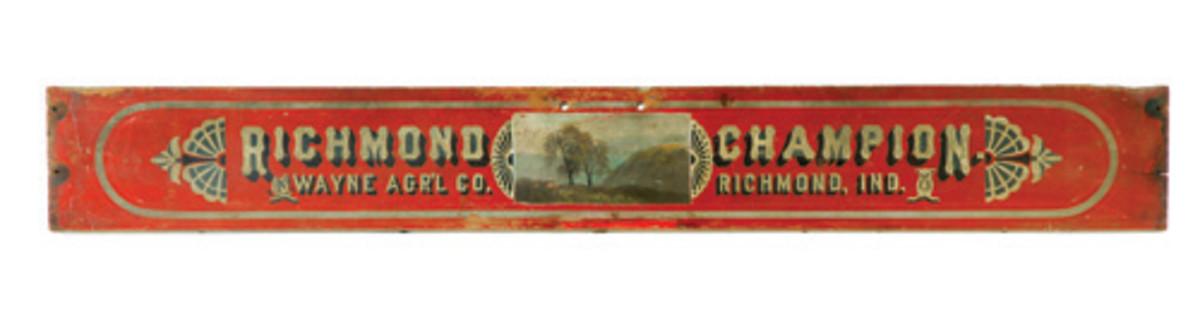 Richmond Champion sign