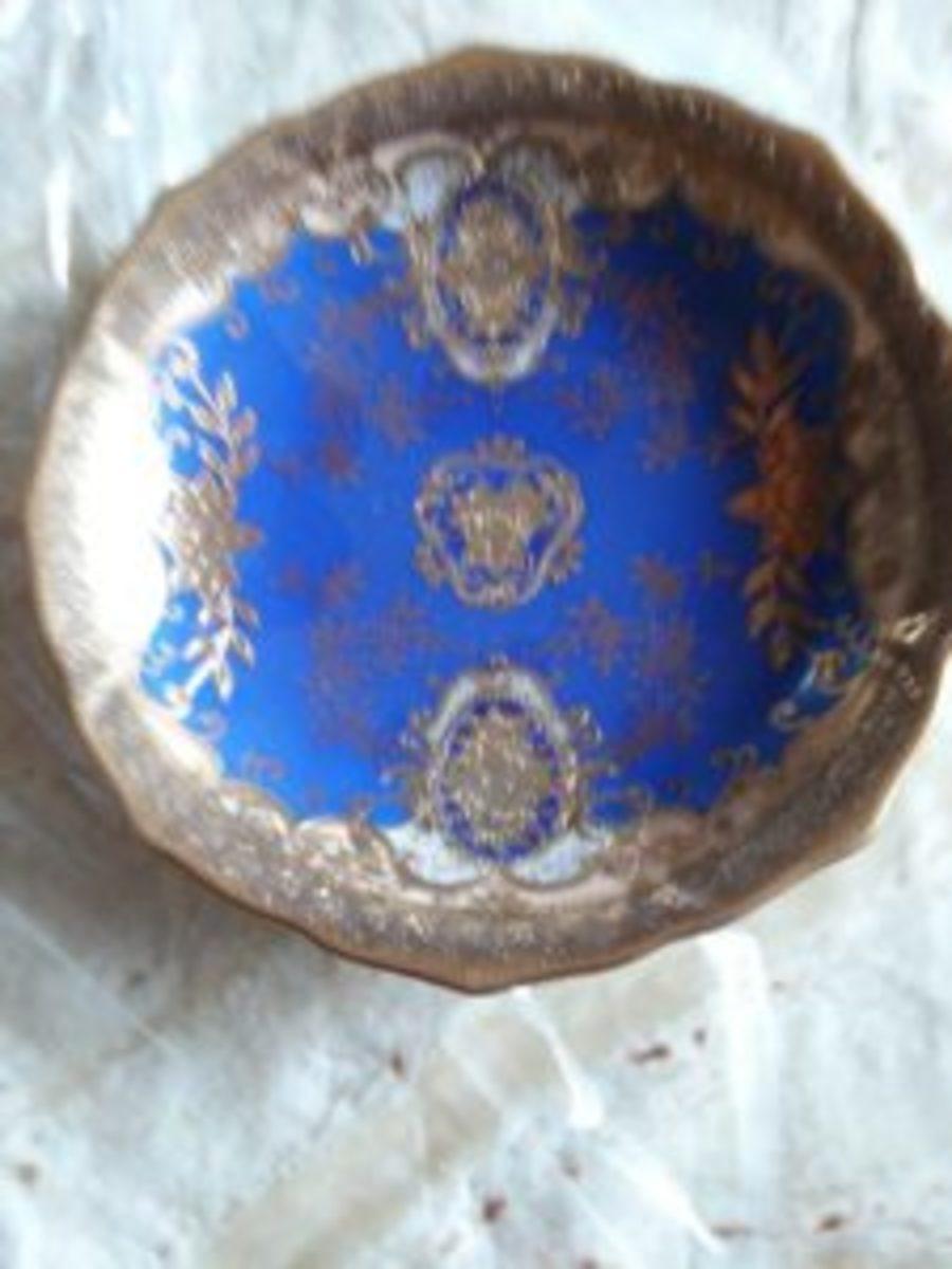 Warnecke porcelain dish