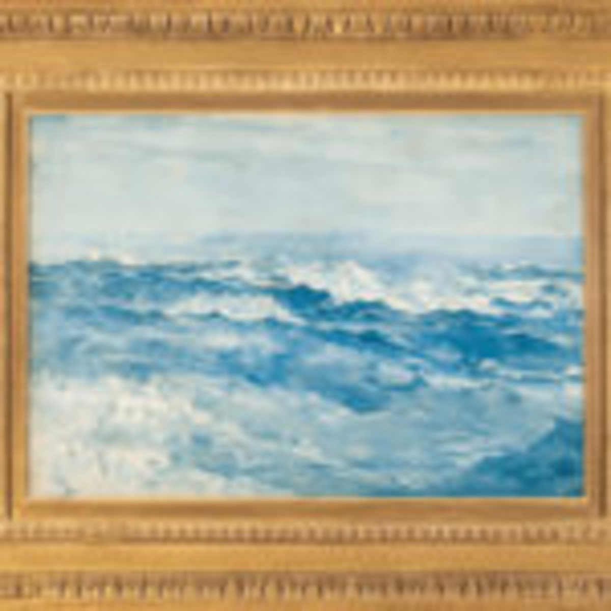 Light Blue Sea at Prouts Neck by Winslow Homer. Courtesy of MS Rau