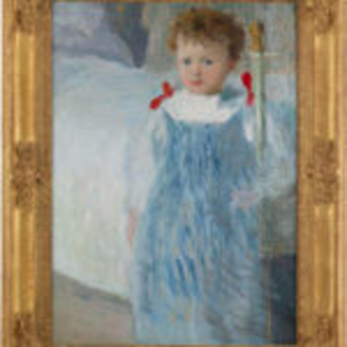 Dorothy, by Julian Alden Weir. Courtesy of MS Rau