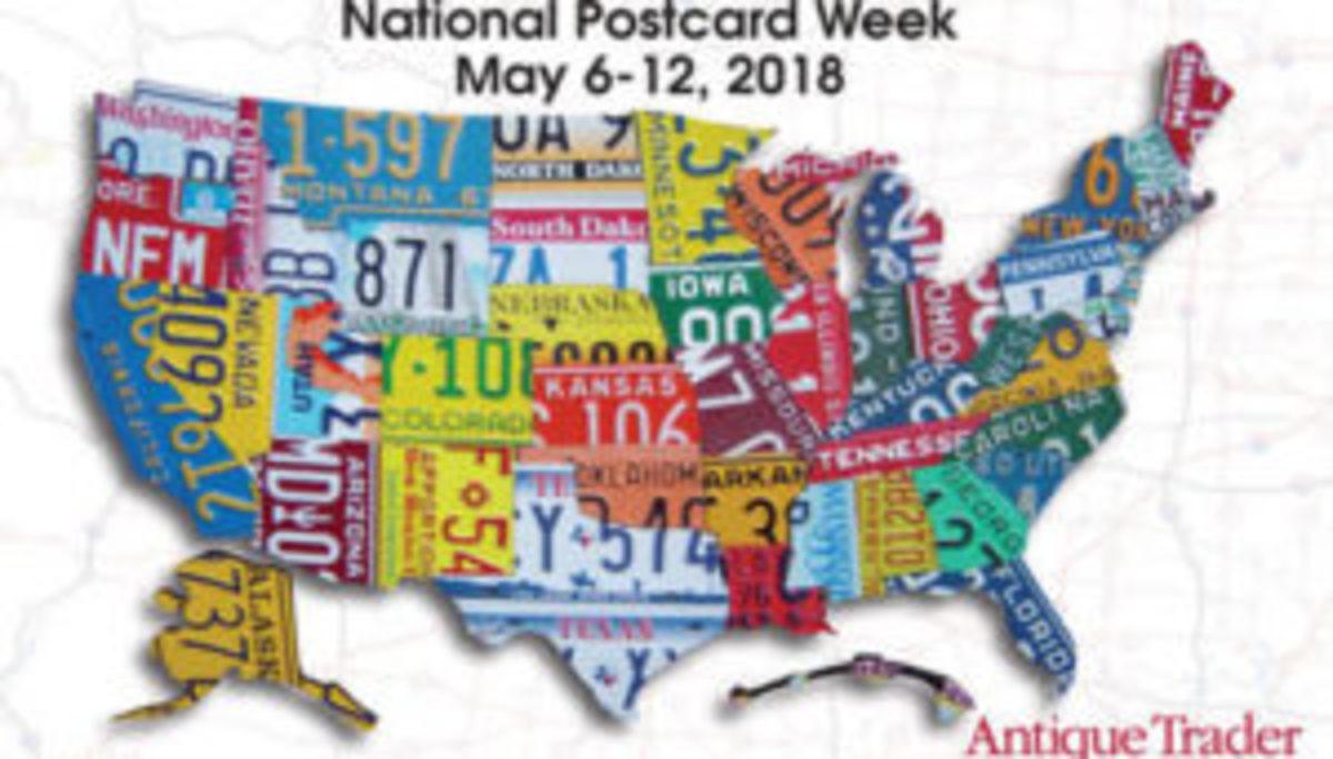 Antique Trader National Postcard Week 2018 Postcard