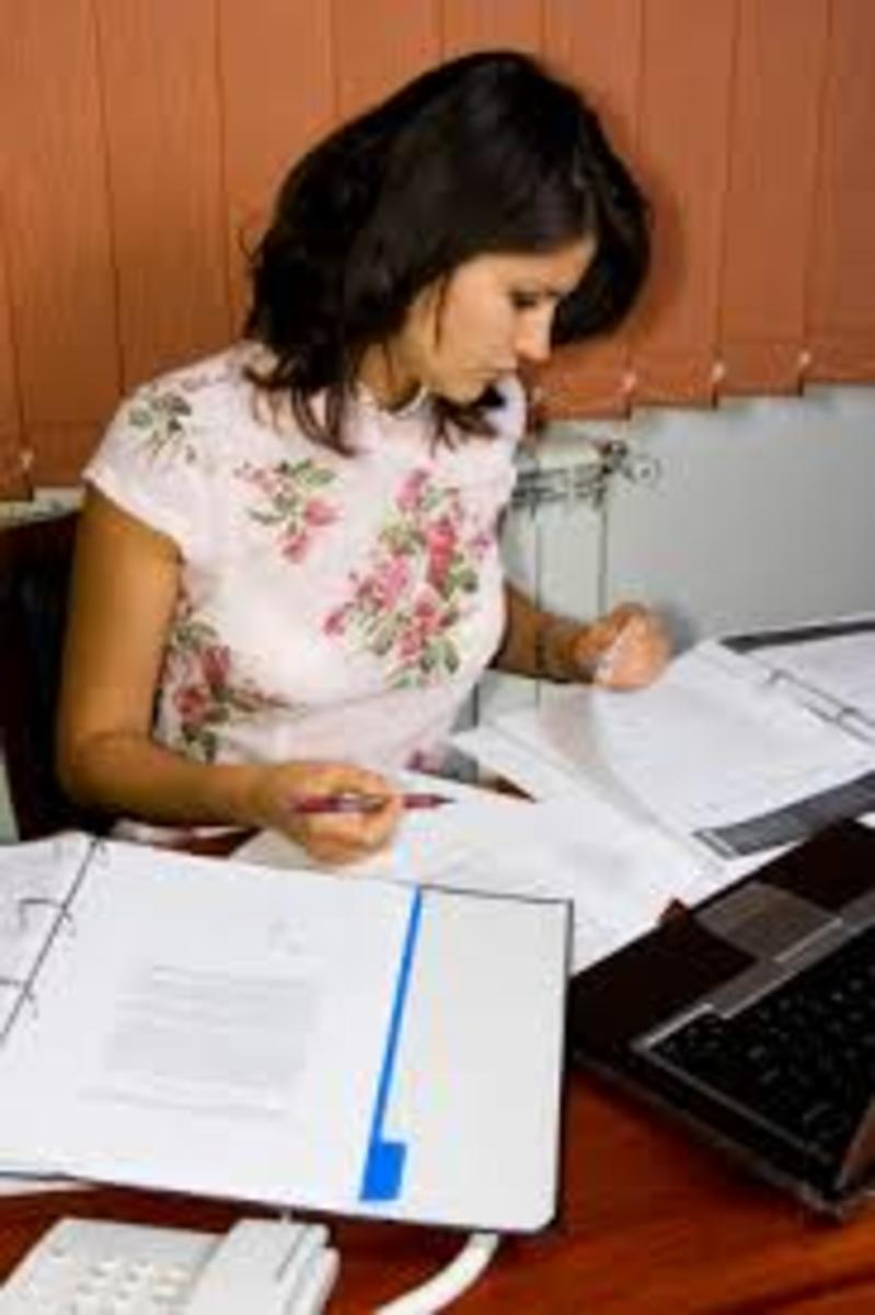 Catching up on administrative tasks and end-of-year/first-of-the-year paperwork is a necessity of doing business.