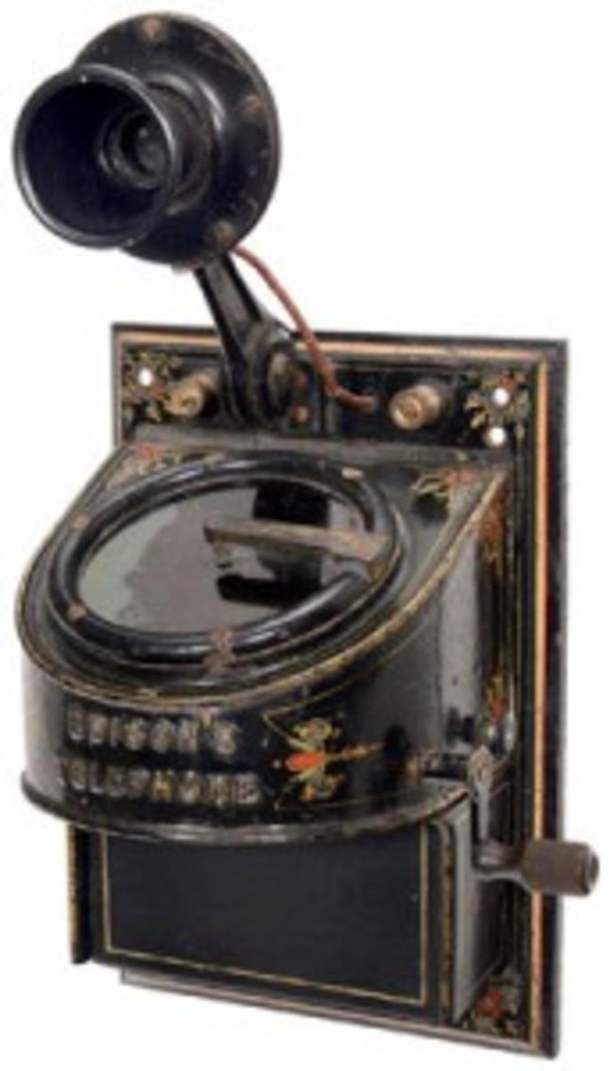 Edison's electromotograph