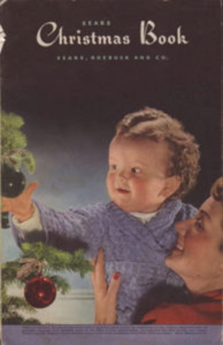 This 1943 Sears Christmas Book conveys the joy of Christmas.