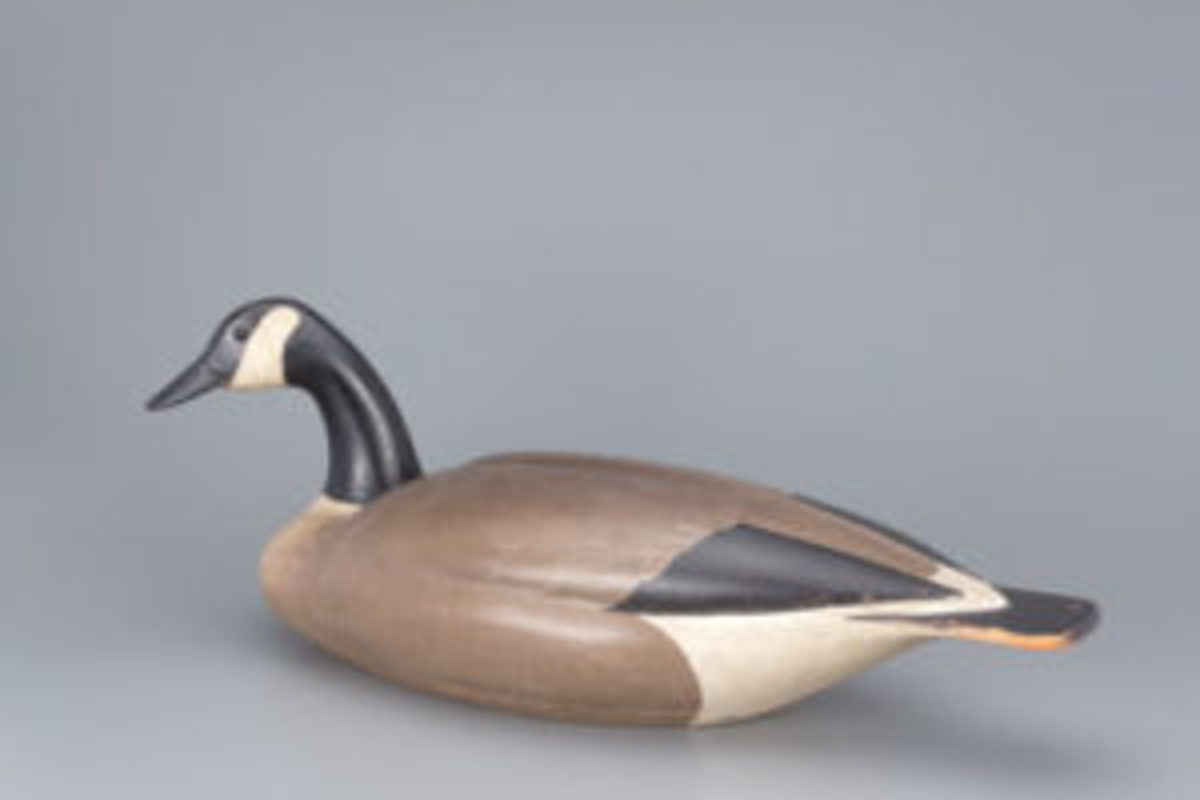 Mackey-Wheeler goose decoy
