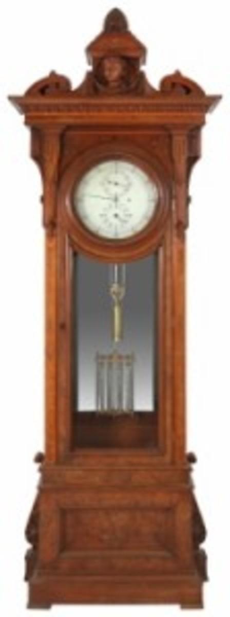 Howard regulator clock